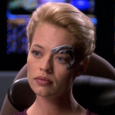 "Jeri Ryan as ""Sewen of Five"" - Origen Paramount"