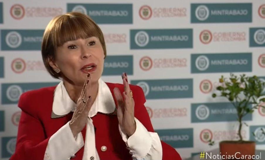 Alicia Arango en Noticias Caracol - Captura de pantalla