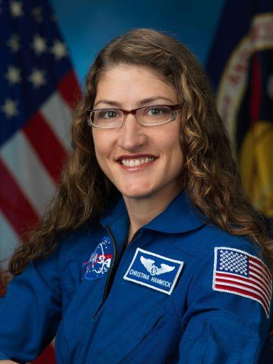 Christina Koch - Foto oficial NASA