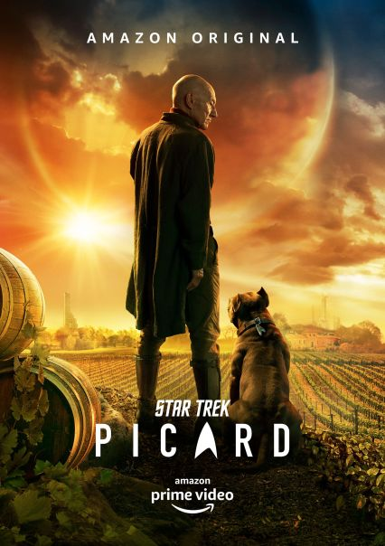 Jean Luc Picard - Star Trek Picard - Origen Amazon Video