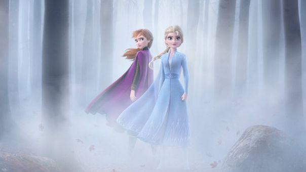 Anna y Elsa en Frozen II - Origen Disney
