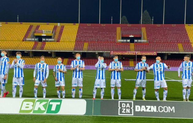Equipe de Pescara - Photo trouvée dans Ouest France