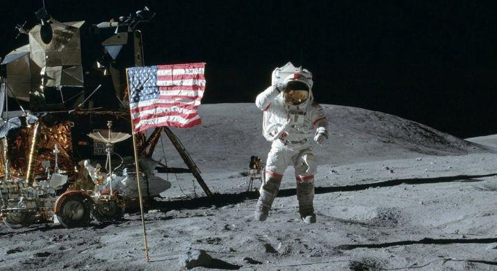 Los primeros pasos en la luna - Origen NASA