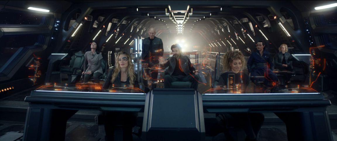 Star Trek Picard - Tripulación de La Sirena - Origen CBS