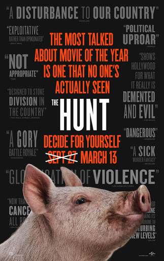 Afiche de The Hunt - Origen Universal Pictures