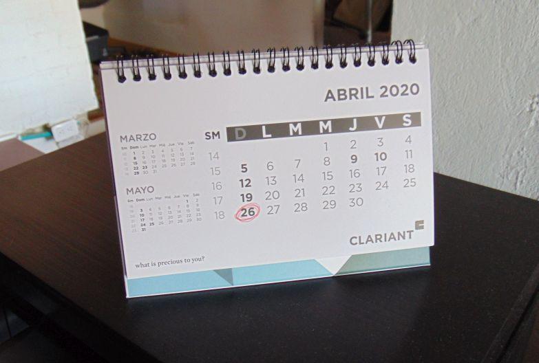 Calendario de cuarentena - Colección TMN