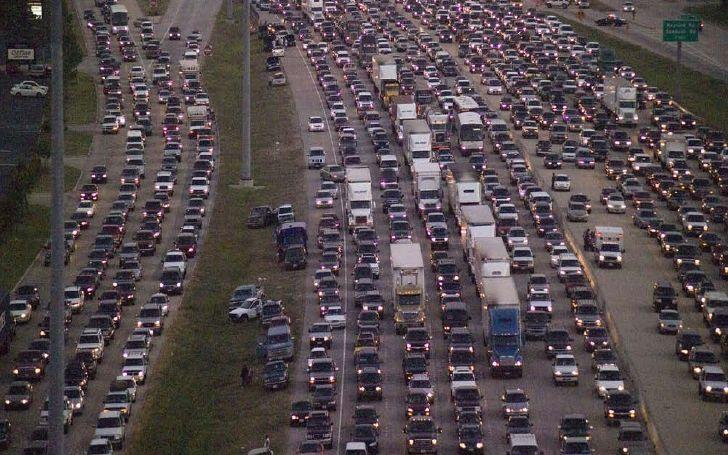 Congestión vehicular - Origen desconocido