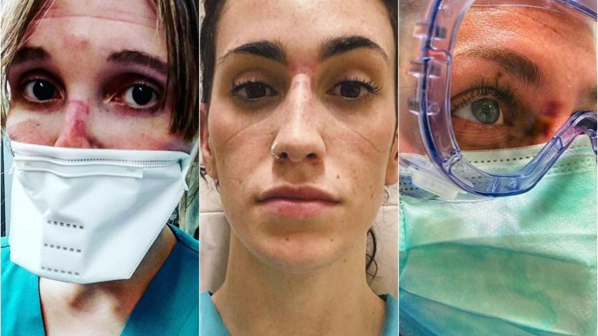 Enfermeras y medicas en Madrid - Origen El Español