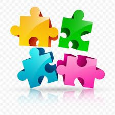 Formas de piezas de puzle - Origen desconocido