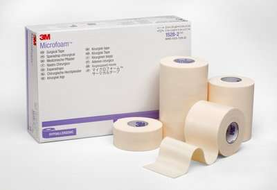 Cinta quirúrgica 3M Microfoam - Origen 3M Medical Supplies
