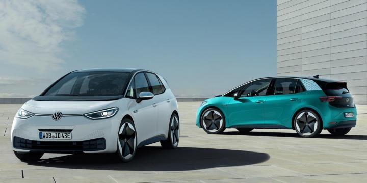 Carros eléctricos - Un Volkswagen ID3 - Origen Volkswagen
