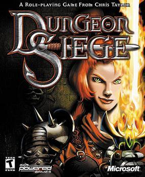 Caratula caja del juego Dungeon Siege - Origen Microsoft Games