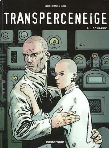 Portada original de la novela gráfica Transperceneige - Origen Casterman