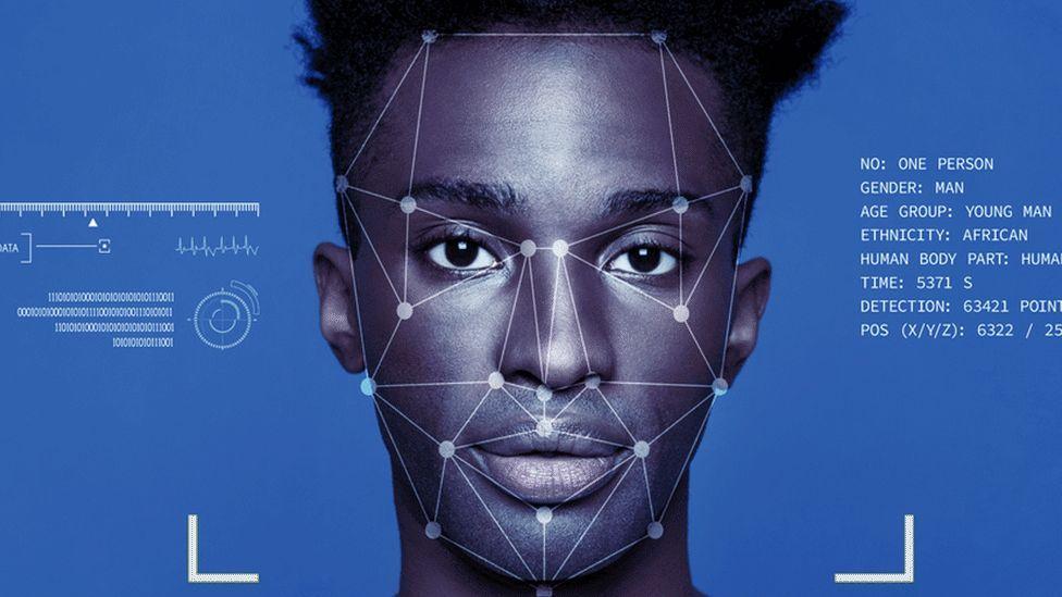 Ejemplo de reconocimiento facial - Origen Imagenes Getty - BBC News