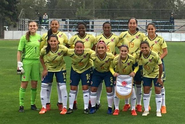 Equipo de Colombia en 2019 - Foto Federación Colombiana de Futbol
