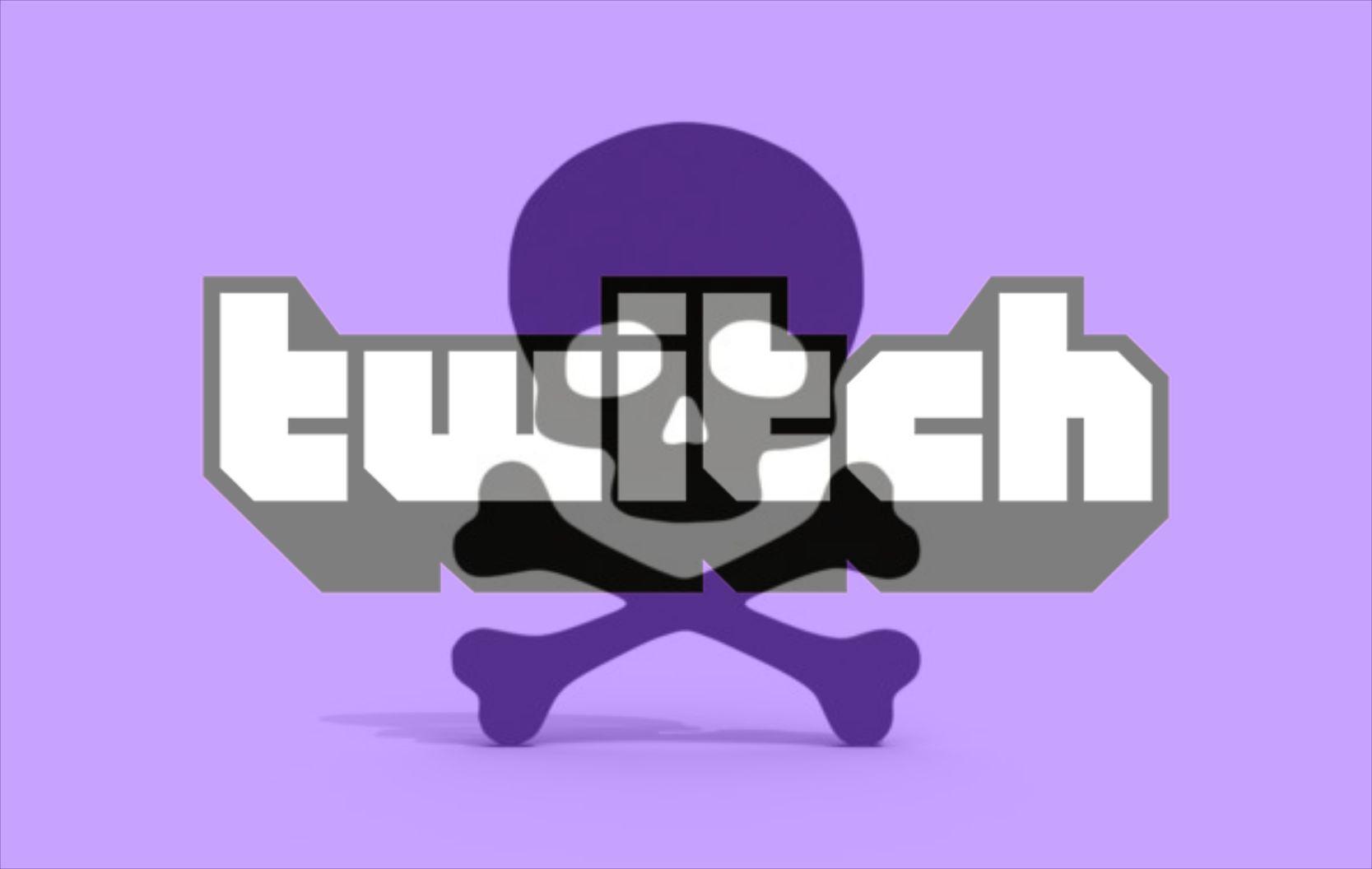 Composición a partir del logo oficial de Twitch