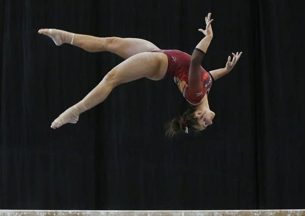 Maggie Nichols - the best at NCAA 2019 - Unknown source