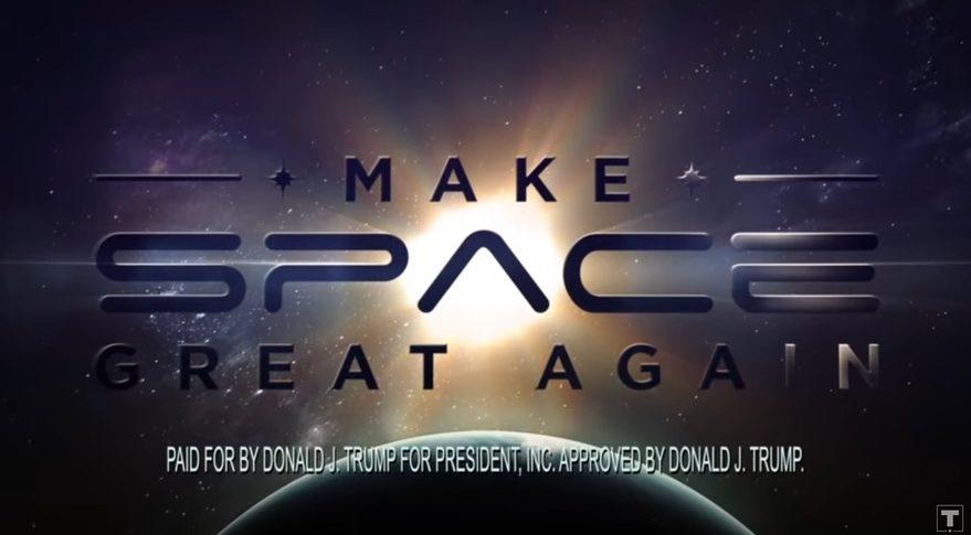 Publicidad política pagada - No por la NASA - Origen SpaceNews