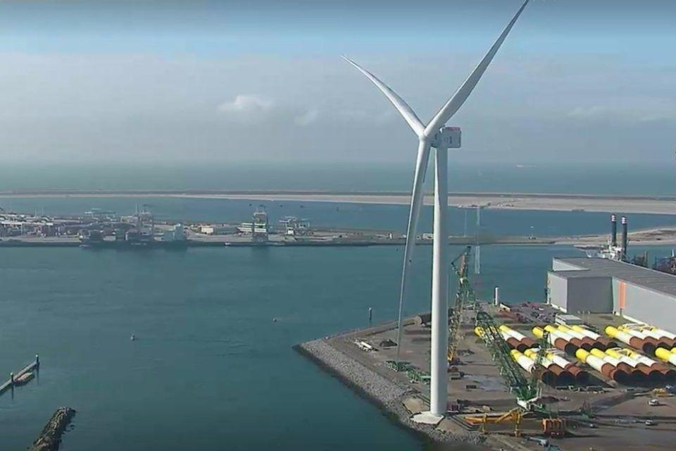 Turbina Haliade-X en Rotterdam - Origen Pagespeed