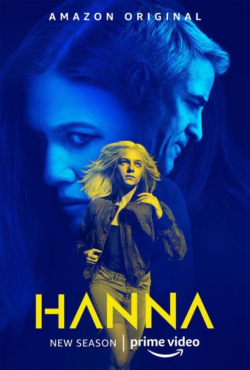 Afiche promocional de Hanna Temporada 2 - Origen Amazon Video