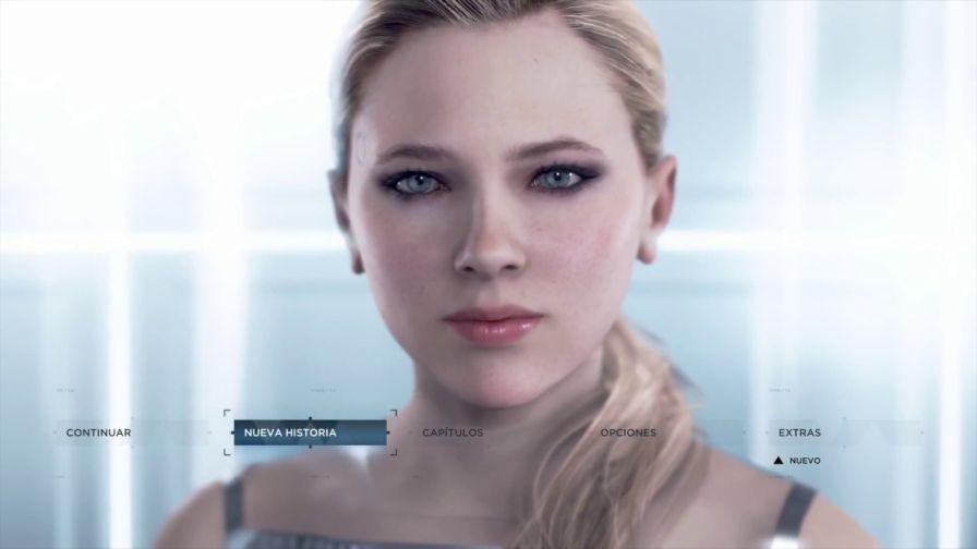 Cloe en Detroit Become Human - Captura de pantalla