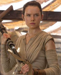 Rey en Star Wars The Force Awakens - Origen Lucas Films - Disney