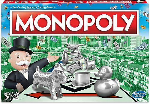 La 4IR - Una caja de Monopoly - Origen Hasbro