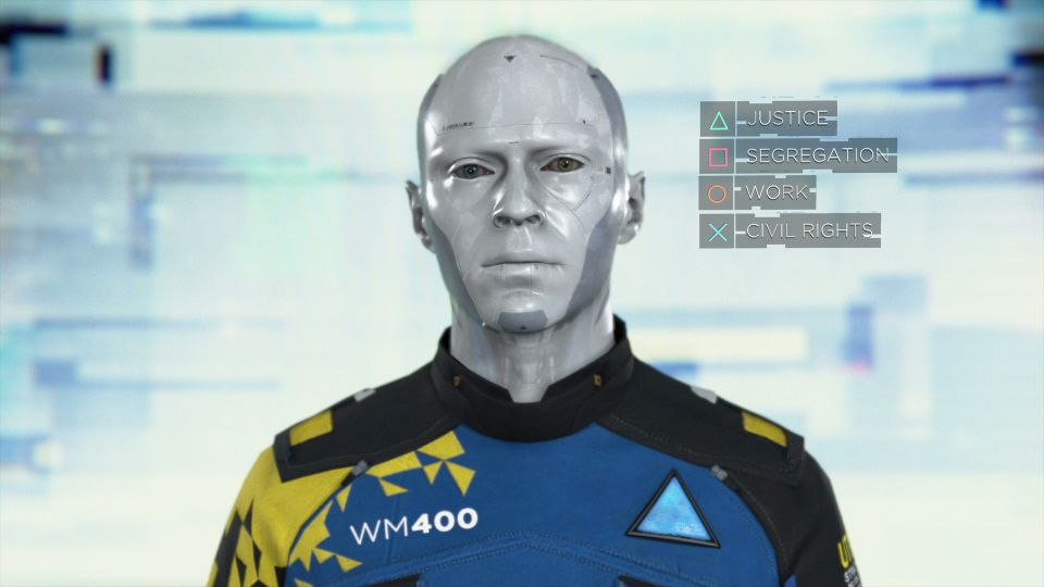 Una elección en Detroit Become Human - Origen Sony Playstation