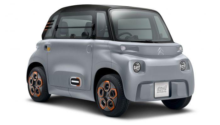"""Un Citroën """"Ami"""" - Origen Citroën"""