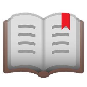 Emoji libro abierto - Origen desconocido