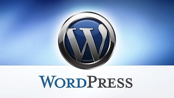 Logo WordPress - Cortesía de WordPress