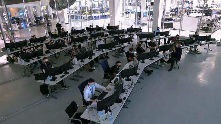 SpaceX Control Room - Origen SpaceX