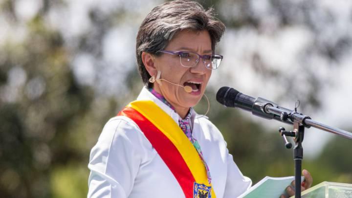 Foto de Claudia López Hernández alcaldesa de Bogotá – Origen desconocido