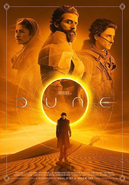 Afiche oficial de Dune 2020 - Origen Warner Bros