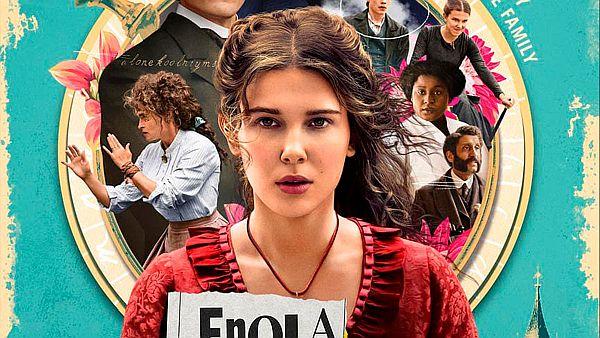 Afiche oficial de Enola Holmes - Origen Netflix
