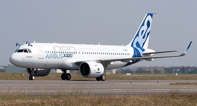 COVID 19 - Airbus A320neo landing - Unknown origin