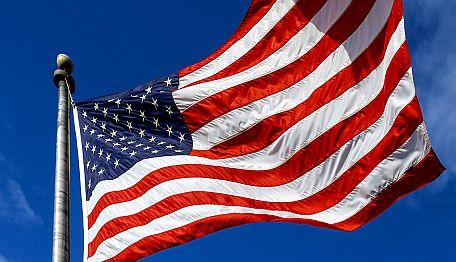 Bandera de los Estados Unidos de América - Origen Getty Images