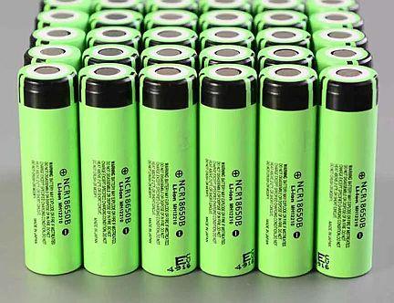 Baterias Panasonic 18650 - Origen Panasonic