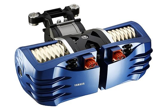 Motores eléctricos - Un doble propulsor eléctrico Yamaha - Origen Yamaha EV