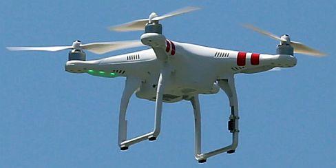 Un dron DJI Phantom - Origen DJI