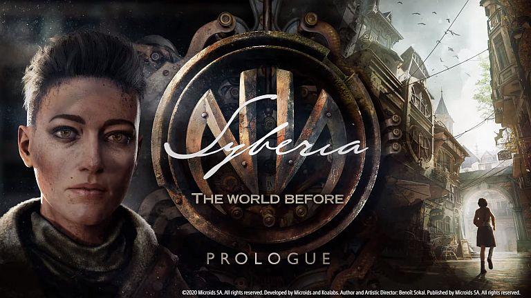 Pantalla de presentación de Syberia The World Before - Origen STEAM y MICROID