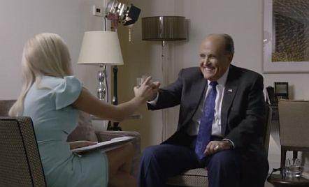 Rudy Giuliani en la pelicula Borat Subsequent Moviefilm - Origen Amazon