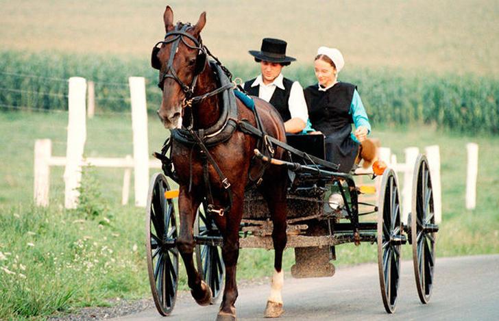 Una pareja Amish - Origen desconocido