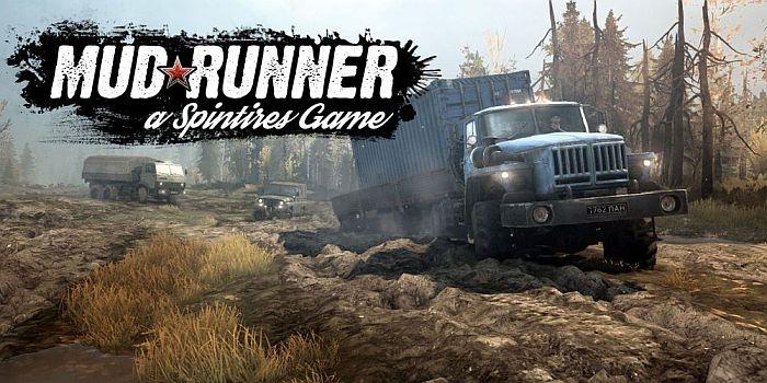 Afiche comercial de Spintires MudRunner - Origen Focus Home Interactive