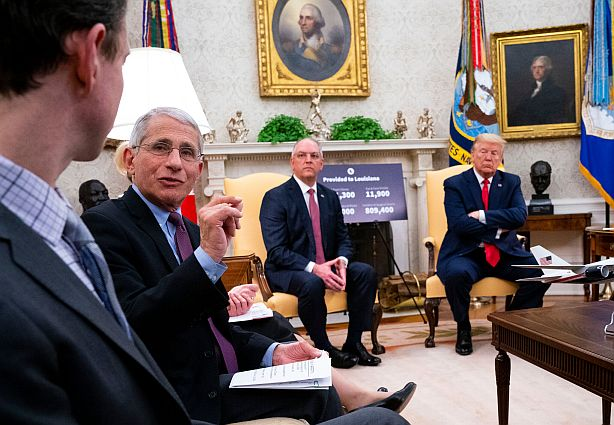 EE.UU. - Dr Anthony Fauci at an Oval Office Reunon - Origen desconocido