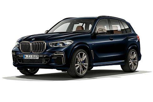 Un SUV BMW X5 M50i - Origen BMW