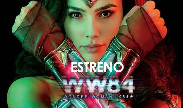 Afiche de Wonder Woman 1984 - Origen Warner Bros