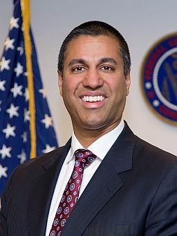 Ajit Pai - FCC Chairman - Official Portrait