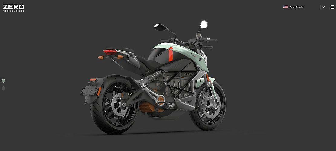 Fin de la gasolina - Una motocicleta eléctrica Zero SRF - Origen Zero Motorcycles