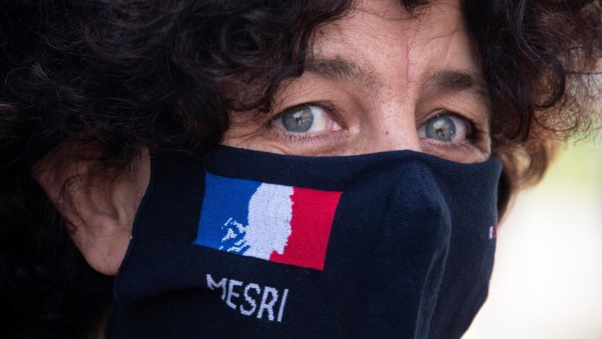 "Islamoizquierdismo - La ministra frances Frédérique Vidal - Foto publicada en ""The New Arab"""